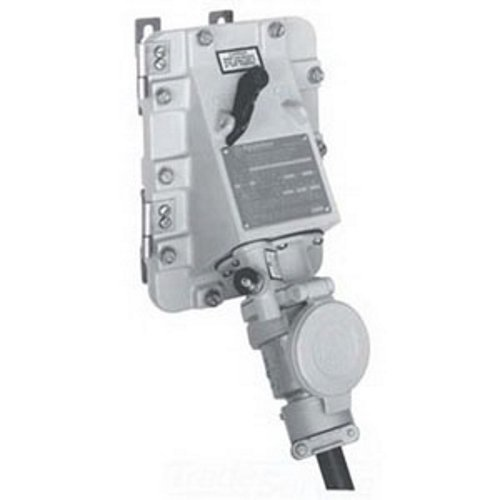 appleton jbr6034-150 switched receptacle, 600v, 60 amp, 3 wire, 4 pole,  1-1/2
