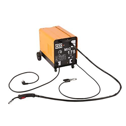Funnyrunstore MIG-175 Monofásico Ventilador de Enfriamiento de Alambre Portátil Estable Máquina de Soldadura Apantallada a Gas Para Soldadura Enchufe de la ...