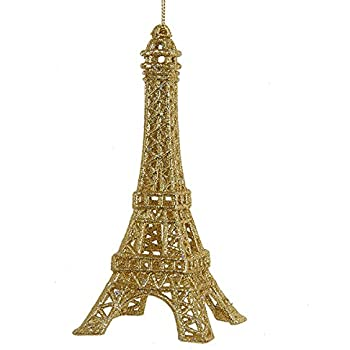 Ornament - Eiffel Tower - Gold Glittered Acrylic Ornament - Amazon.com: Ornament - Eiffel Tower - Gold Glittered Acrylic