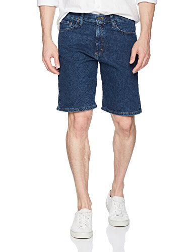 Wrangler Authentics Men's Comfort Flex Denim Short Dark Stonewash (Blue Wrangler)