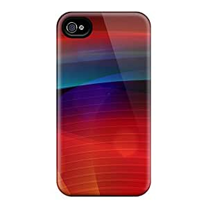 New Arrival Premium 4/4s Case Cover For Iphone (colorful Background)