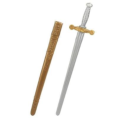 Epee de chevalier - Deguisement - Carnaval - Plastique - 80cm - 1312