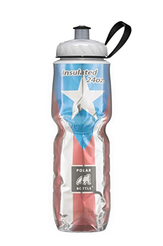 Polar Bottle Insulated Water Bottle Limited Edition (24-Ounce, Puerto (Puerto Rico Water)