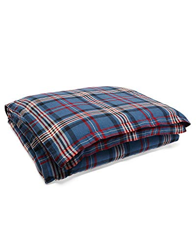 RALPH LAUREN Saranac Peak Collection - King Bentwood Plaid Comforter - Ralph Lauren Bedding Collections