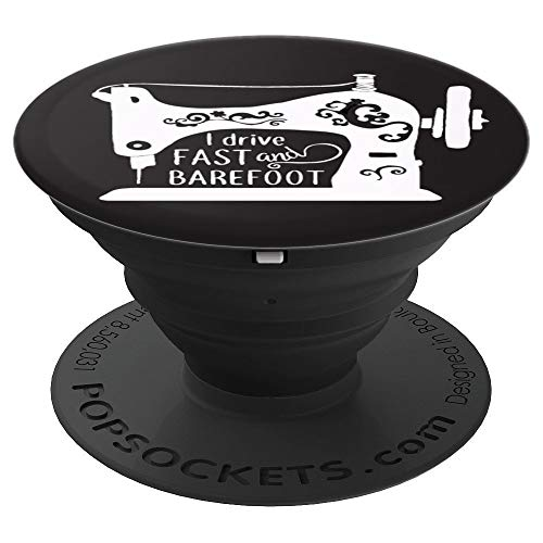 - sewing machine, sewer and quilter - PopSockets Grip and Stand for Phones and Tablets