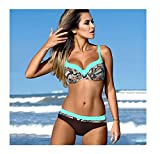 Hangwucha Lady Bikini Set Swimwear Women Bandage Brazilian Swimsuit Push up Bathing Suits
