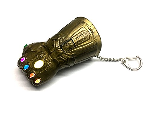 CAMINO Marvel Avengers Infinity War Infinity Gauntlet Key Chain Mens Gauntlet