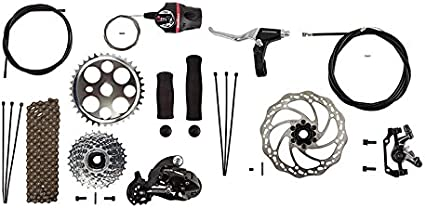 Sun 3-Speed Coaster Brake Hub Conversion Kit for Adult 3-Wheeler