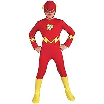 Rubieu0027s Justice League The Flash Childu0027s Costume Medium  sc 1 st  Amazon.com & Amazon.com: Rubieu0027s Justice League The Flash Childu0027s Costume Medium ...