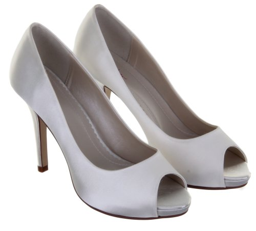 Rainbow Club Jennifer Ivory Wedding Shoes Size 5 etPG2eRZ