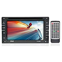 Pyle PLDN66I-6.5-Inch Double DIN touch Screen LCD Monitor Receiver with USB/SD Card Readers, CD/DVD Player, AM-FM (Discontinued by Manufacturer)
