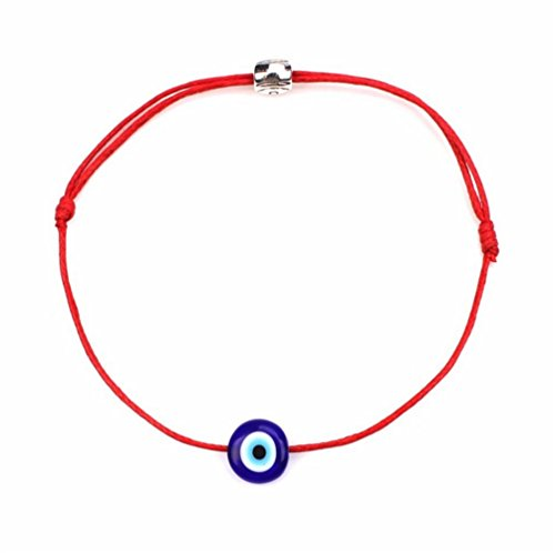 (2pcs Evil Eye Adjustable Bracelet Kabbalah String Bracelet/BFF Bracelet)