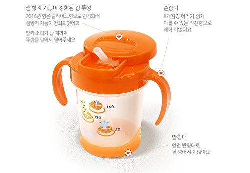 Avent Magic Cup Trainer Handles (Magmag Premium Baby Bottle Straw Cup 200ml)