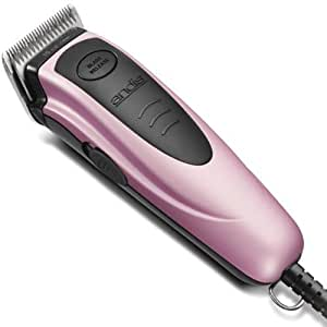 Andis Versa 12 Piece Pet Clipper Kit, with Powerful Quiet and Cool Running Rotary Motor, with 4 SafeGuard Attachment Combs with Rounded Edges for Added Comfort, 2 Interchangeable #7FC and #4FC Blades, Includes a Step by Step DVD, Stainless Steel Shears, Blade Brush and Soft Zippered Case