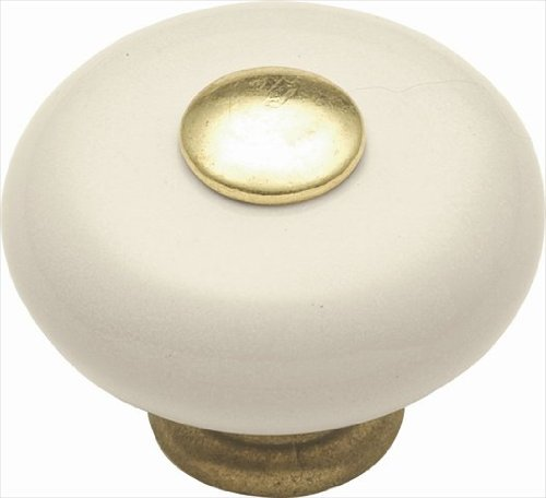 Hickory Hardware P222-LAD 1.25 In. Tranquility Light Almond Cabinet Knob Lad Light Almond