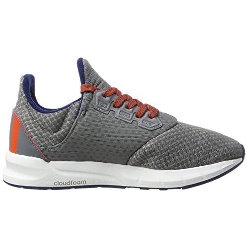 reputable site 97122 6129c adidas Falcon Elite 5 Xj, Chaussures de Running Compétition Mixte Adulte,  Gris (Gris