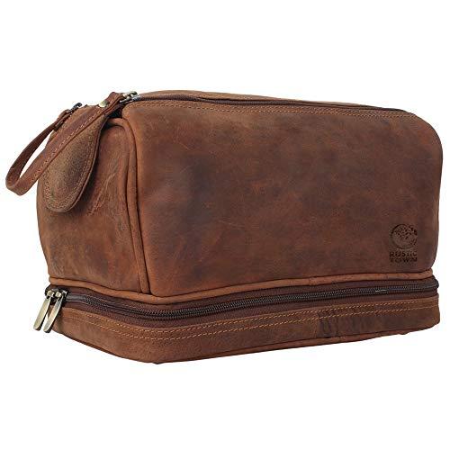 Genuine Leather Travel Toiletry