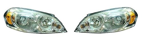 06 - 13 Chevrolet Impala Headlight Headlamp Pair Set 06-07 Monte Carlo Driver and Passenger