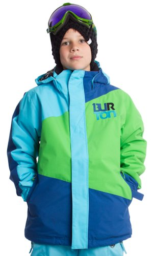 Burton Symbol Snowboard Jacket Snooker Bandana Norsk S -Kids by BURTON