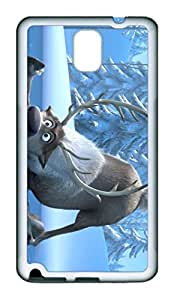 Samsung Galaxy Note 3 Case, Note 3 Case - Special Edition Rubber Case Bumper for Galaxy Note 3 Frozen Perfect Fit White Soft Rubber Covers for Samsung Galaxy Note 3