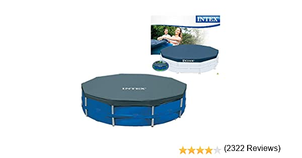 Intex 28031 - Cobertor piscina metálica Metal & Prisma Frame 366 ...
