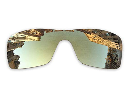 Vonxyz Lenses Replacement for Oakley Turbine Rotor Sunglass - Bronze MirrorCoat ()