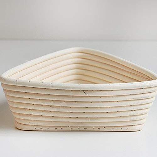 Best Quality - Baking Inserts - Creative Fermentation Rattan Basket Country Bread Baguette Dough Banneton Bread Mould Pastry Storage Holder Fruit Baskets - by GTIN - 1 PCs by HIBISCUS. (Image #4)