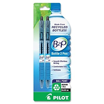 Caso Al por mayor de 25 – piloto B2P reciclado botella de agua bola punto pens