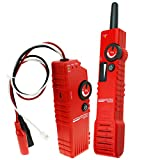 Anti-Jamming Low Voltage Underground Cable Tracker Detector Tester Wire Locator with Polarity Test Function and Rechargeable Battery