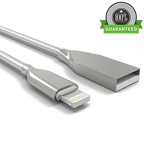 onson-iphone-cable3ft-short-stainless-steel-spring-cord-lightning-cable-certified-to-usb-charging-ch