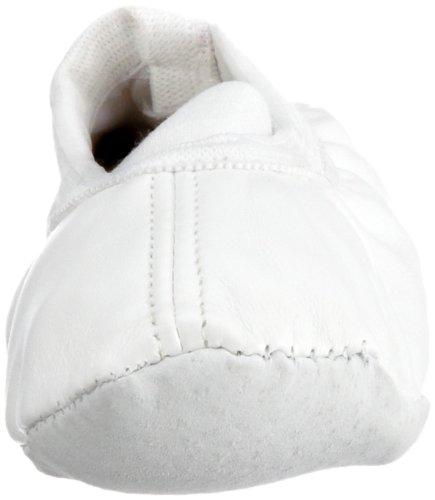 Playshoes Ballerina-Schuhe, Ballet-Schuhe Uni von Playshoes 208753 - Bailarinas para niña Blanco