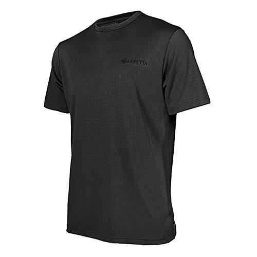 - Beretta Mens US TECH T Shirt; Black; X-Large