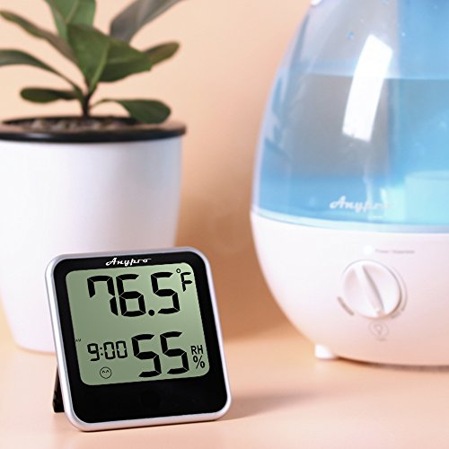 humidity-monitor-anypro-hygrometer-thermometer-temperature-humidity-gauge-2-in-1-digital-weather-station-with-humidity-meter-temperature-gauge-time-display-and-built-in-clock-wireless-for-house