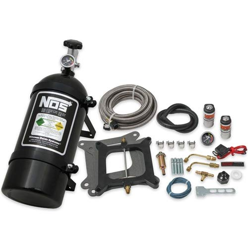 NOS 05001BNOS Powershot Nitrous System Kit Holley 4150 Square Bore and Edelbrock