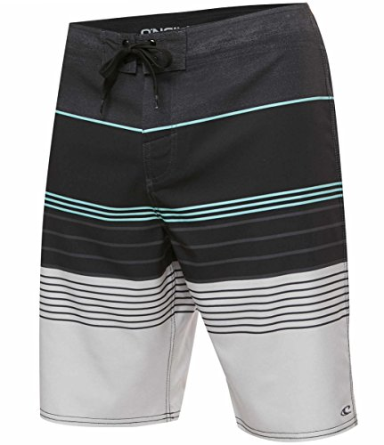 O'Neill Men's Brisbane Lennox Board Shorts - Brisbane Charcoal, Size - European Suits Male Bathing