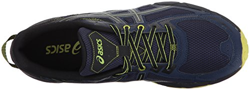 ASICS Mens Gel-Venture 6 Running Shoe, Indigo Blue/Black/Energy Green, 7 Medium US by ASICS (Image #8)