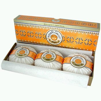 Gallet Bouquet - Bouquet Imperial by Roger & Gallet for Women. 5.2 Oz Soap Each 3 Pieces in Box