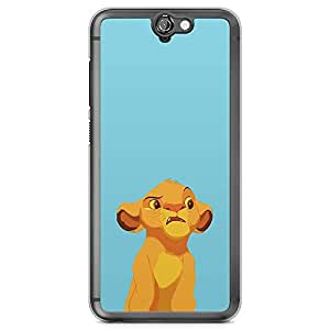 Loud Universe The Lion King Simba HTC A9 Case Strange Simba Lion King HTC A9 Cover with Transparent Edges