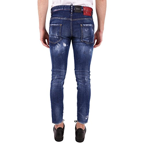 Dsquared2 Jeans Cotton Blue S74lb0440s30342470 Men's nq87g