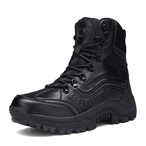 Hommes De Résistant Pour L'usure Black Randonnée Antidérapantes Et Haut Homme À Les Imperméables Chaussures Gardez Cuir Suetar En Suédé Militaires Bottes Gamme Chaud Tactiques 8Bw1qf5Bx