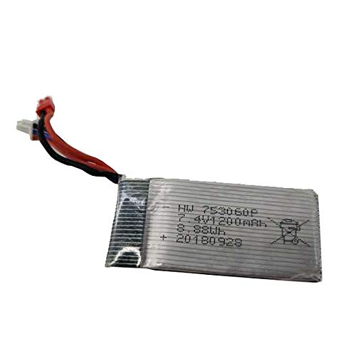 -  Orcbee  _7.4V 1200mah Lithium Battery for L100 Quadcopter Drone Spare Parts