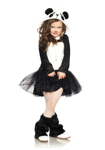 Leg Avenue Children's Pretty Panda (Girls Panda Halloween Costume)