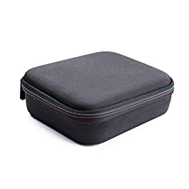 Walmeck Portable Mini Storage Box Carrying Case EVA Handbag Pouch Protector Travel Bag Splash-Proof for Pocket Handheld Gimbal and Accessories