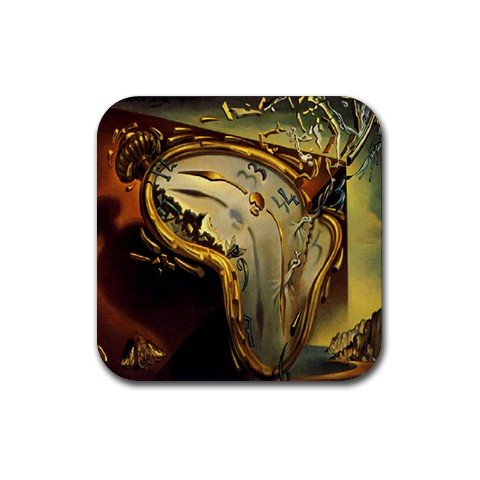(Soft Watch By Salvador Dali Coaster (Set of 4))