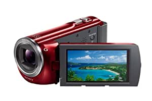 Sony HDR-PJ380/R High Definition Handycam Camcorder with 3.0-Inch LCD (Red) (Discontinued by Manufacturer)
