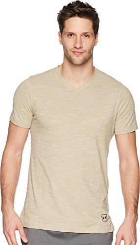 Under Armour Men's Sportstyle Core V-Neck Tee City Khaki X-Large Collection Under Armour