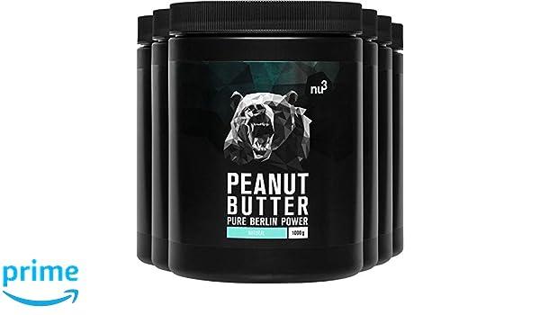 nu3 Crema de cacahuete - Paquete de 6 kg - Peanut Butter pura y ...