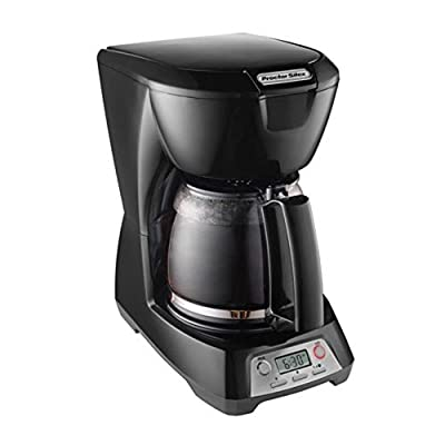 Proctor Silex 43672 12 Cup Black Programmable Coffee Maker