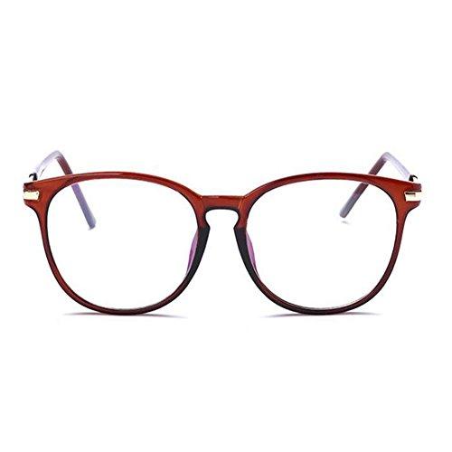 Lunettes Rétro Marron fatigue claire Anti Lumière Anti lunettes bleue Hommes Ordinateur Lentille Meijunter Femmes Goggle Des XwAqSX8