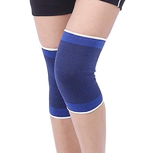 (Luwint Soft Knitted Kids Knee Brace - Children Patella Brace Support for Soccer, Volleyball, Basketball, Outdoor Sports, 1 Pair)